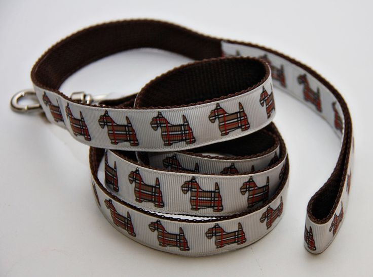 """Scotty Dogs 1"""" Dog Leash by Bonzai Gifts by Pet Nanny on Etsy"""