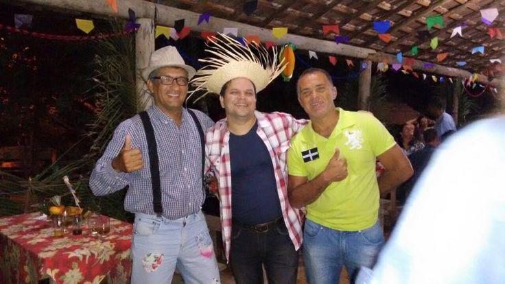 03/07/2015 - Ronaldo Freire Andrade, Marcos Fialho e Joâo Manoel Xavier