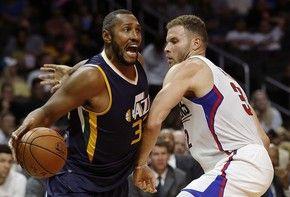 Utah Jazz, e LA Clippers estão na disputa para ver quem vai terminar em quarto lugar (Foto: AP Photo/Alex Gallardo)