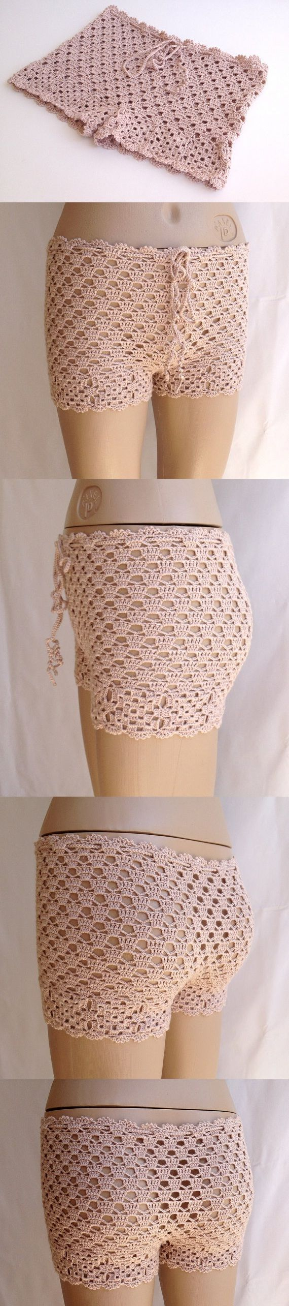 powder pink shorts lace shorts crochet women beach shorts summer short swimsuit mini shorts senoaccessory