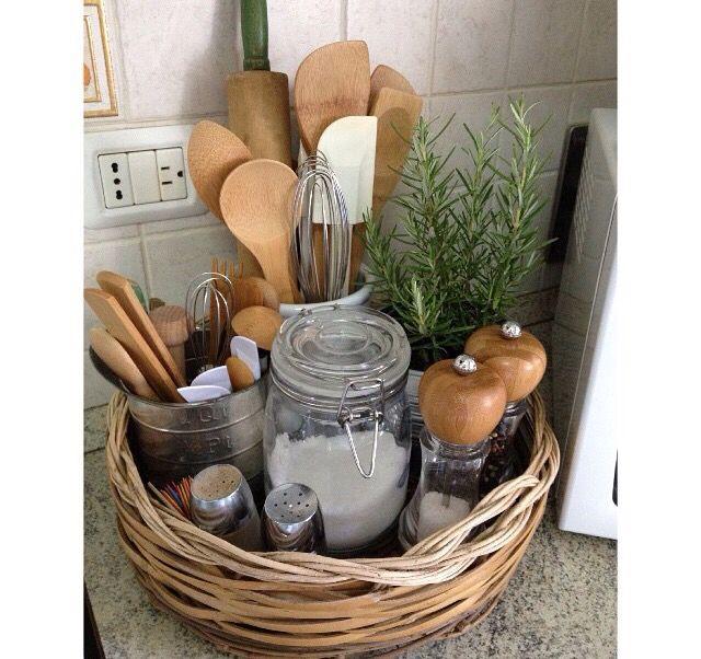 Kitchen decor/organization