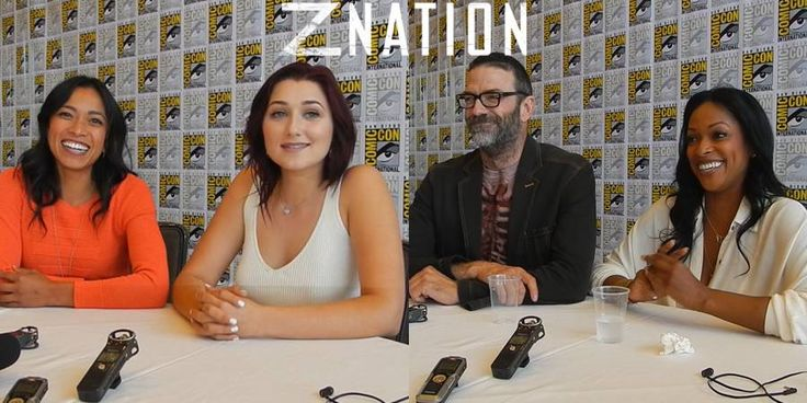 Z Nation at SDCC 2015 – Season 2 with Murphy, Warren, Cassandra & Addy