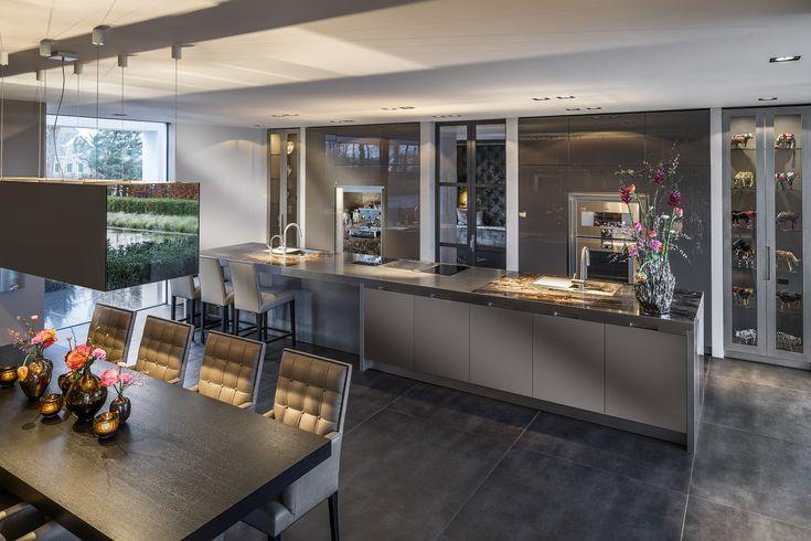 Mogelijke indeling keuken Culimaat - High End Kitchens   Interiors   ITALIAANSE KEUKENS EN MAATKEUKENS - Vertex XXL