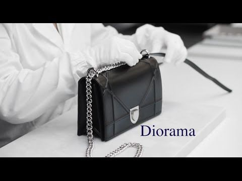 "Christian Dior - The Making of the ""Diorama"" Bag  