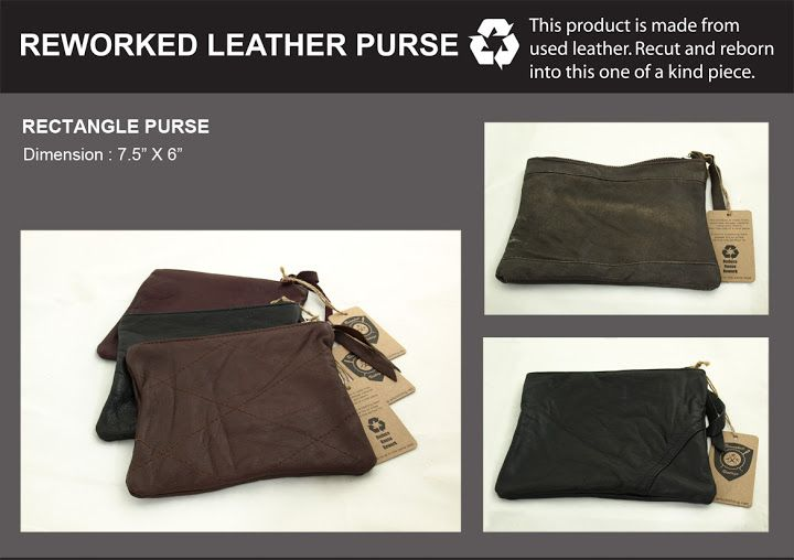 reworked purses