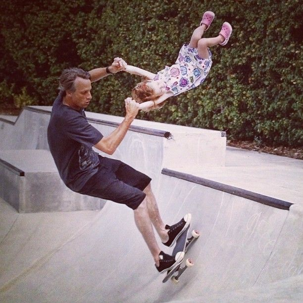 Tony Hawk, because he can lol