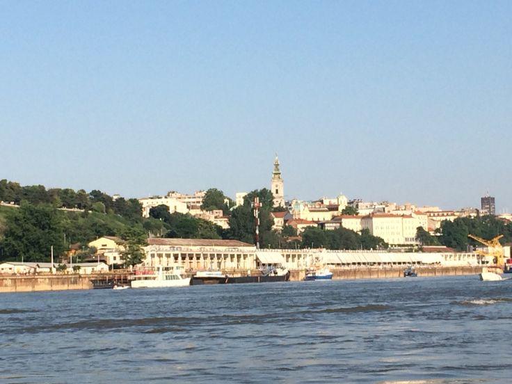 Belgrade by Sava