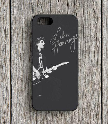 5 Second Of Summer Luke Hemmings Guitar iPhone 5 | 5S Case