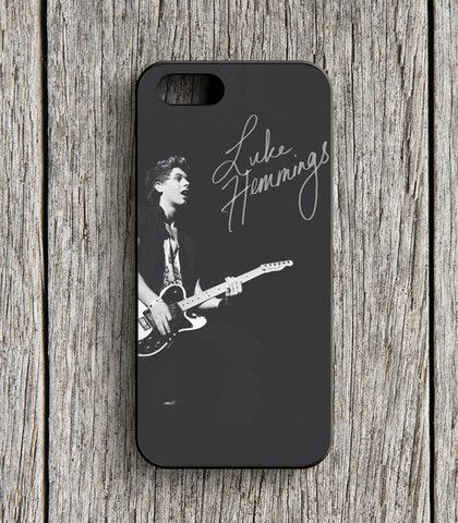 5 Second Of Summer Luke Hemmings Guitar iPhone 5 | 5S Case