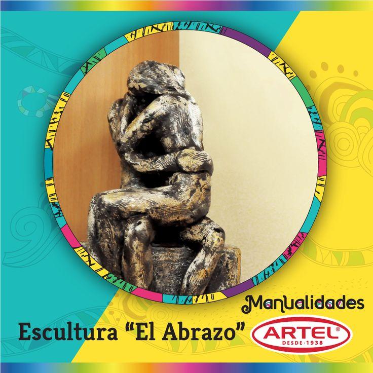 "Escultura ""El Abrazo"""