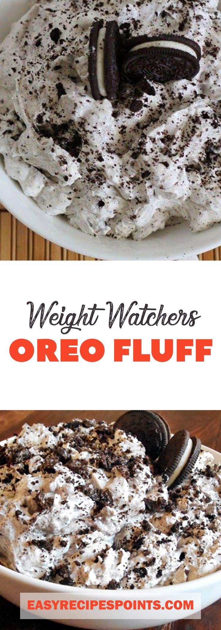 Weight Watchers Oreo Fluff ♥