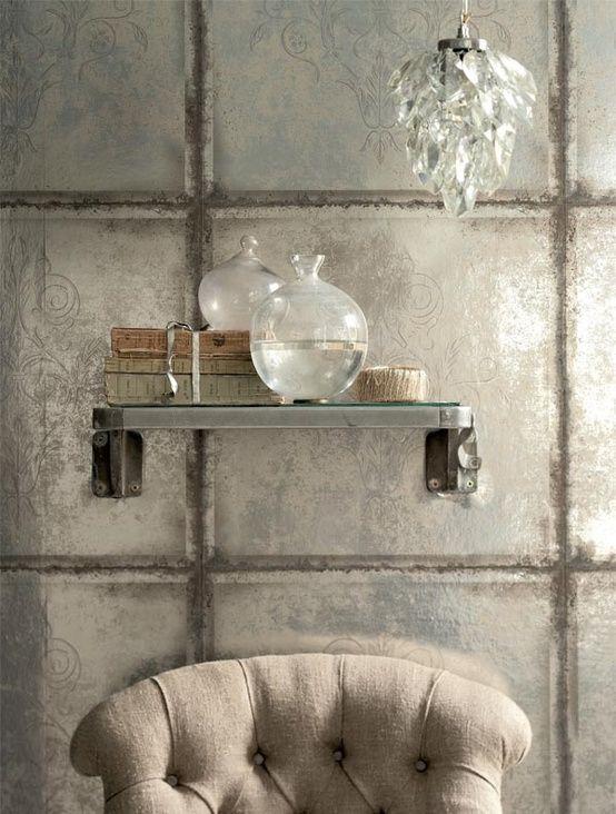 Decor Spotting: Roof Tile Wall Decor