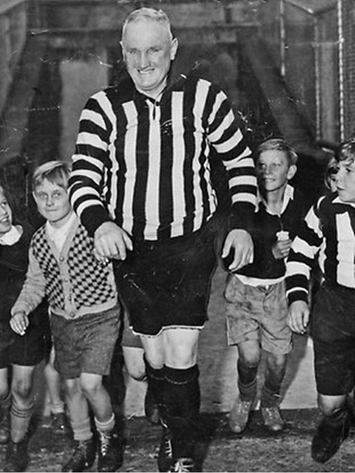 Legend - James 'Jock' McHale (Collingwood). Games 261. Once the AFL changed the rules to allow coaches to become Legends of the game, it was inevitable that Jock McHale would be the first to be elevated.