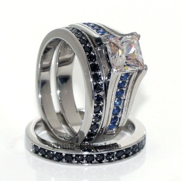 17 Best ideas about Police Wife Ring on Pinterest Sapphire band