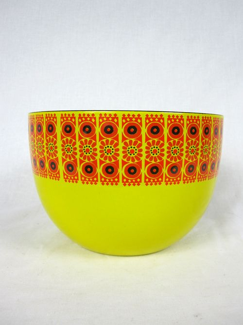Vintage Finel Finland Enameled Bowl