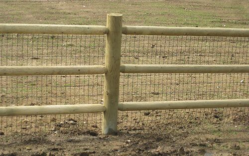 Image Result For Post And Dowel Fence Horse Fencing