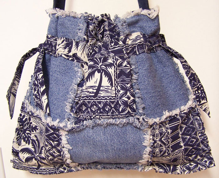 30 best Rag Quilt bags/purses images on Pinterest | Couture sac ... : rag quilt bag - Adamdwight.com