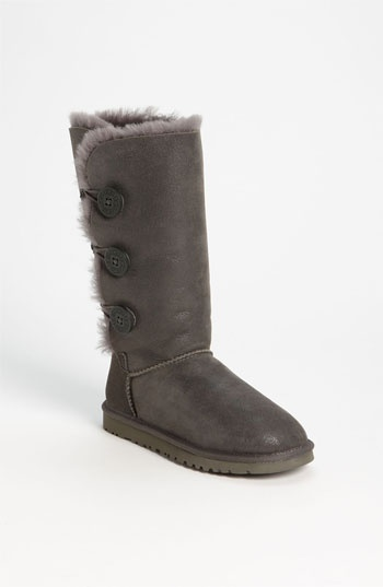 UGG® Australia 'Bailey Button Triplet' Boot (Bomber) (Women) available at #Nordstrom