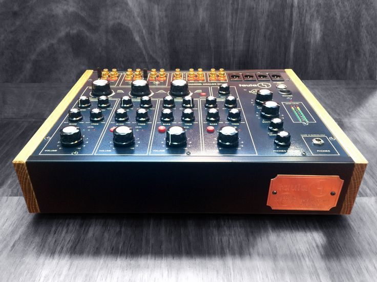 Taula 4 100% analog rotary mixer by Can Electric Handwired in Barcelona www.canelectricaudio.com