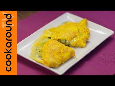 Un viandante in cucina: Omelette zucchine e formaggio