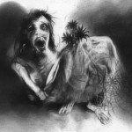 "Stephen Gammell is the illustrator for those wonderful books I loved so much as a kid ""Scary Stories to Tell in the Dark"". His artwork is what made those books for me."