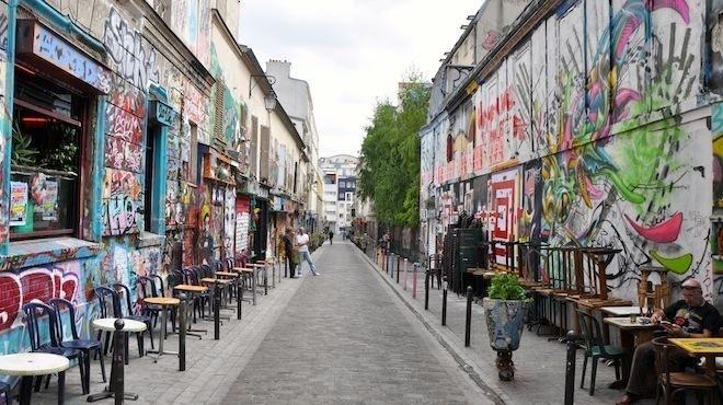 Rue Dénoyez 75020 Paris