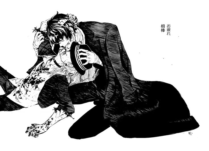 「もう休め、中也」  || Soukoku week, day 7.  Partners in crime.