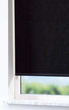 Rullegardin lystett TOMMA 80x170 svart