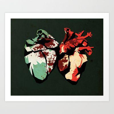 Love08 Art Print by Daniele Vittadello - $19.00
