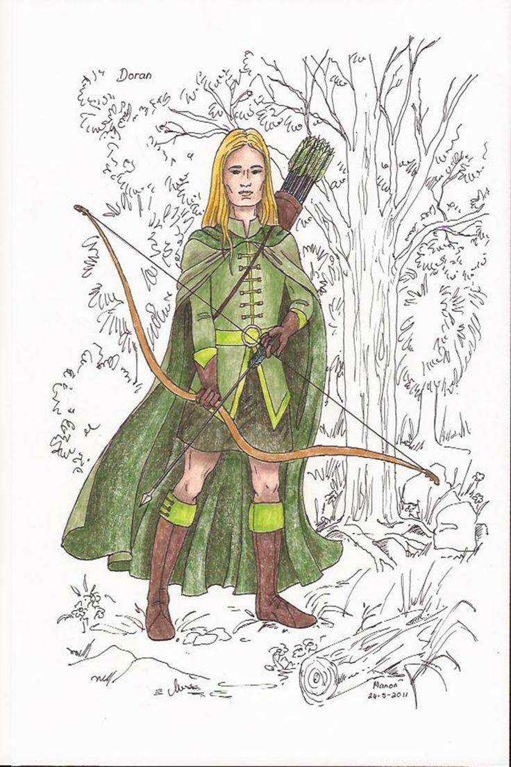 Doran an elf, from the book SIRION by Ivano Massari. http://www.gypsyshadow.com/IvanoMassari.html#top