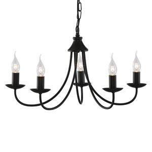 Suggested pendant lighting for lounge in keeping with cast iron radiators and pole for voile.