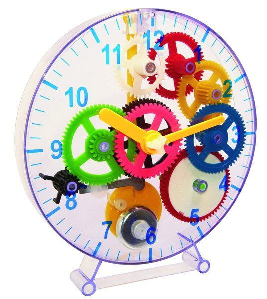 Construct a clock - White Apple Gifts