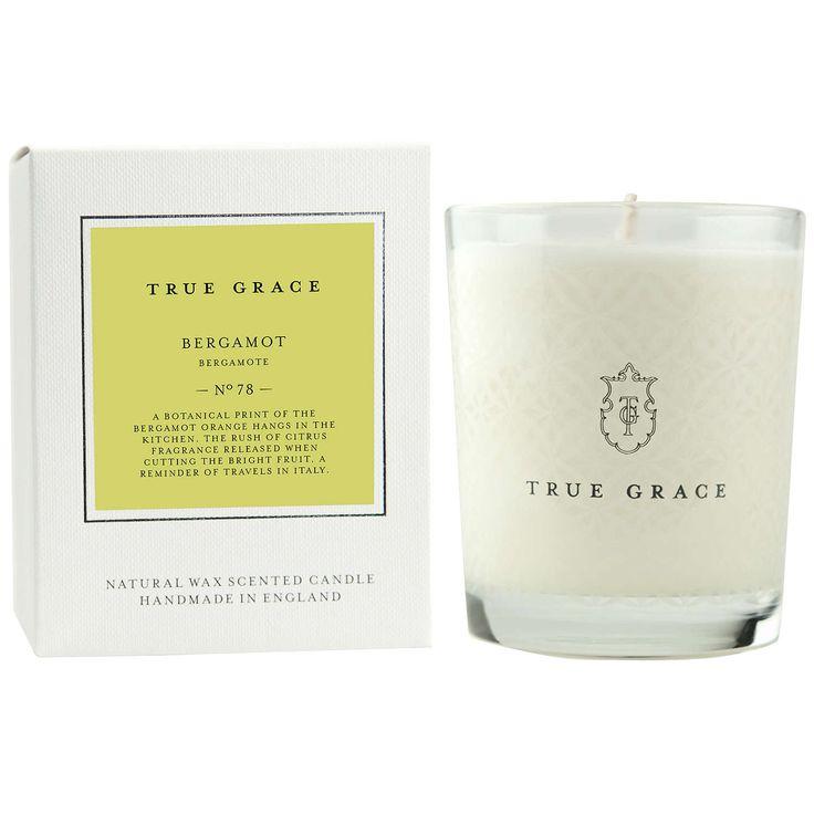 BuyTrue Grace Village Bergamot Scented Candle Online at johnlewis.com