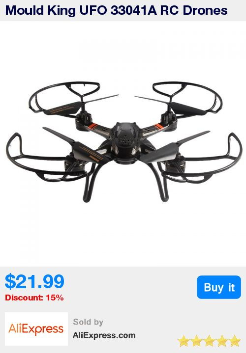 Mould King UFO 33041A RC Drones 4CH 6 Axis Gyro Hover Quadcopter Hover Quadcopter Wireless Remote Control Helicopter with Light * Pub Date: 16:22 Sep 15 2017