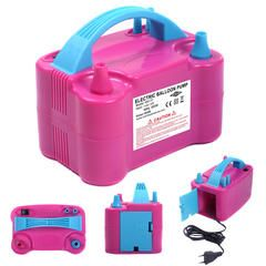 Portable High Power Two Nozzle Color Air Blower Electric Balloon Pump 110V - Sears