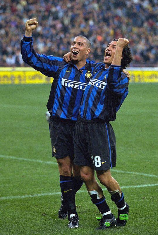 Ronaldo & Zamorano - Inter Milan - Italy