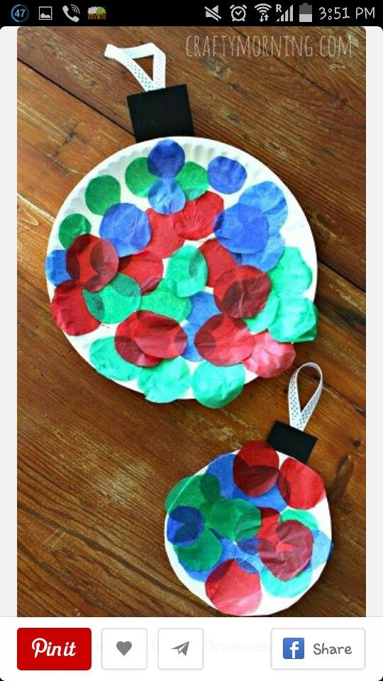 Christmas balls for kids arts and crafts for christmas