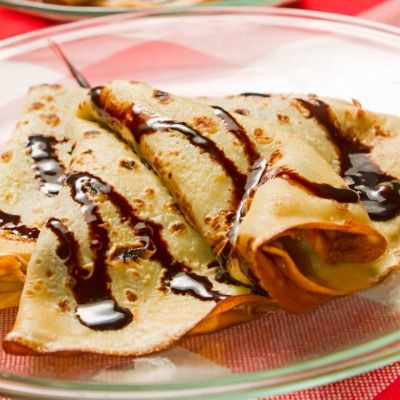 Ciocco crepes Marco Bianchi