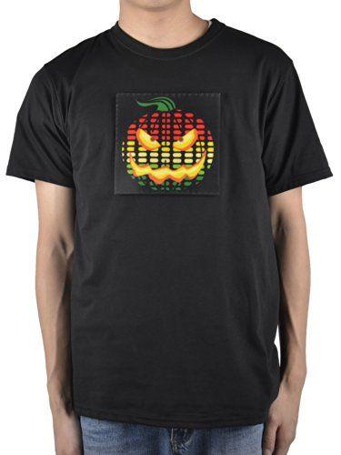 Simplicity Men's Rave T-shirt with Bright LED Logo in Multi-colors, Pumpkin, Simplicity http://www.amazon.com/dp/B00KLVDW08/ref=cm_sw_r_pi_dp_Q4Muub1B6GNFW