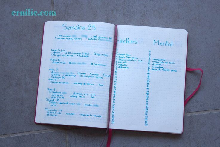 J'utilise un Bullet Journal depuis un bon moment déjà et il ne cesse de se