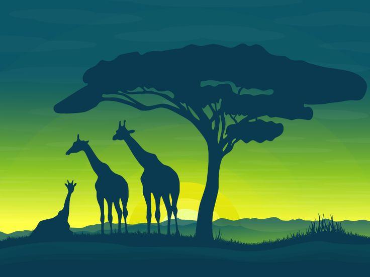 Africa by Yuliya