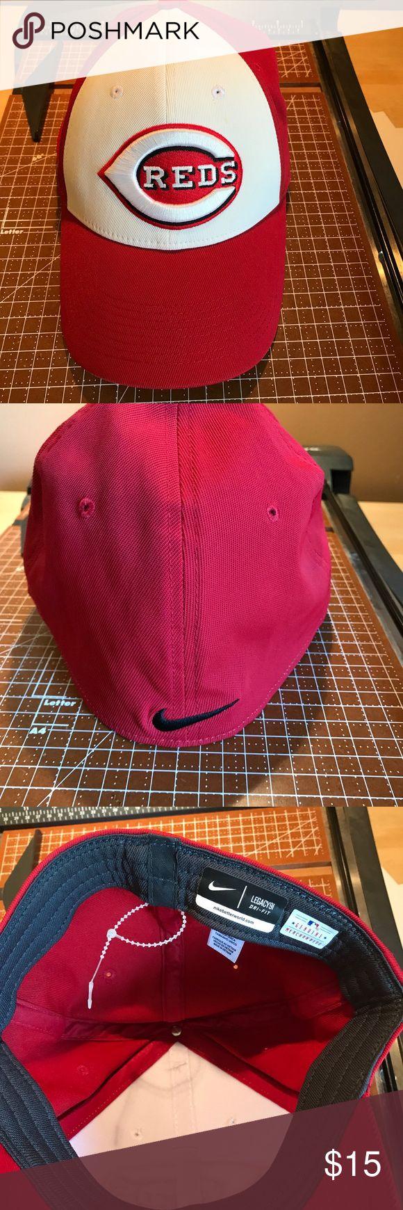 Cincinnati Reds Nike Flex Fit Hat Brand new flex fit hat. Nike Accessories Hats