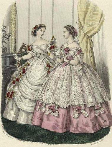 XIX Century - Unknown Source - Fashion Plate