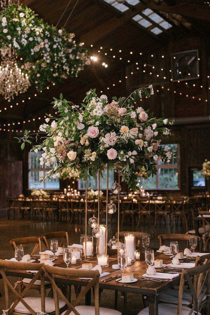 Kelly And Jordan S Flower Filled Boho Chic New York Wedding By Off