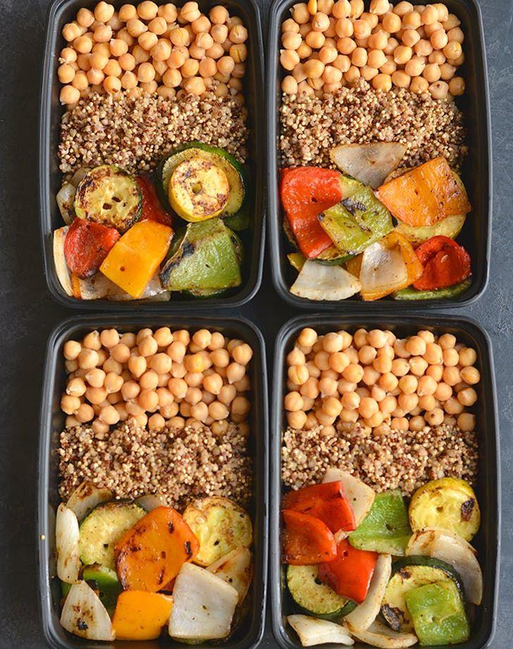 20 Vegetarian Meal Prep Recipes To Make Once And Eat All Week Low Calories Vegetarian Vegetarian Meal Prep Low Calorie Vegetarian Recipes