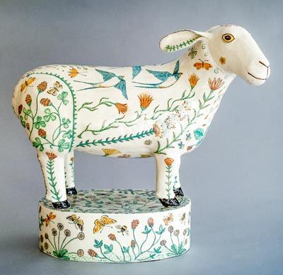 Ceramic by G Warne front view