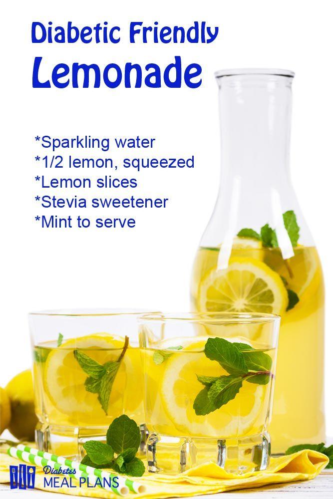 Delicious Sugar Free Diabetic Lemonade