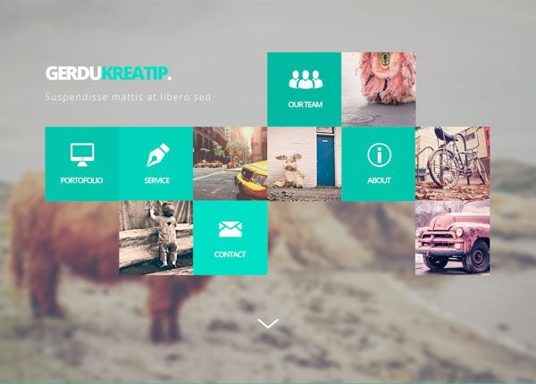 Gerdu Kreatip is the Free Website Mockup Psd that you can download and use in your projects. The Gerdu Kreatip Free Website Mockup Psd has a metro look.