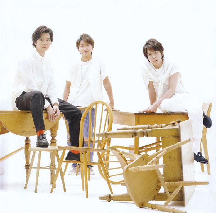 Jun Matsumoto, Satoshi Ohno, and Kazunari Ninomiya