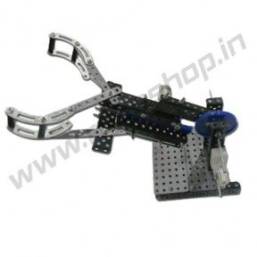Robotic Arm Product Code: RS-3020 Availability: In Stock Price: Rs. 1,500.00  http://www.roboshop.in/robotic-kits-with-tutorials/robotic-arm